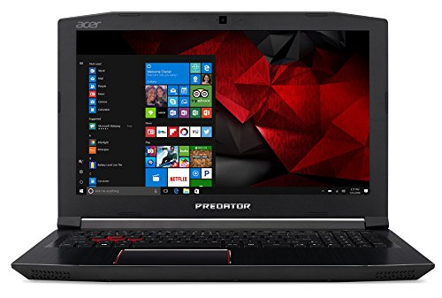 "Acer Predator Helios 300 PH315-51-53MZ - Ordenador portátil DE 15.6"" Full HD (Intel Core i5-8300H, 8 GB RAM, 1000 GB HDD, Nvidia GeForce GTX 1060, Windows 10) Negro - Teclado QWERTY Español 13"