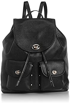COACH Refined Pebble Leather Backpack