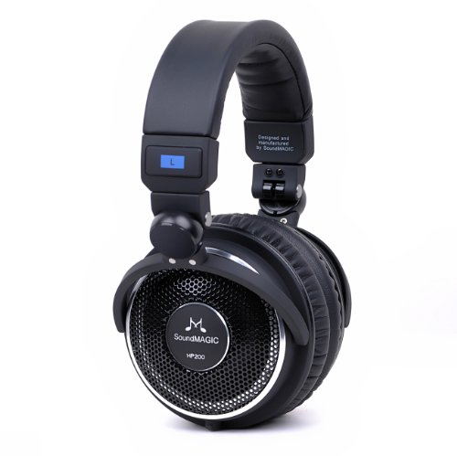 SoundMAGIC HP200 Premium Full Size Open-Back Foldi...