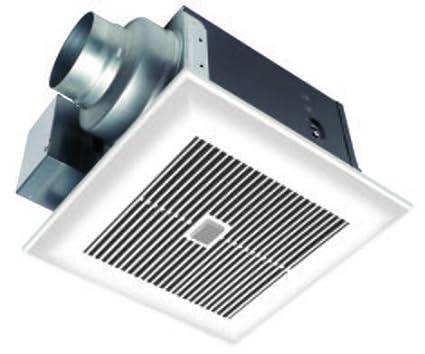 Ventilador para techo (whispersense 110 CFM con doble y la tecnología de sensor de humedad