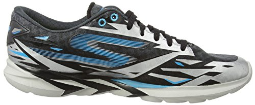 Skechers Go Meb Speed 3 Mens Scarpe Da Corsa Nero / Blu