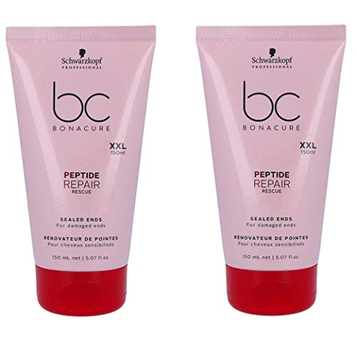 Repair Bonacure Rescue - Schwarzkopf Bonacure Repair Rescue Sealed Ends 5.1 oz (Mega Size - Limited Edition) - Duo Set - (2PACK)
