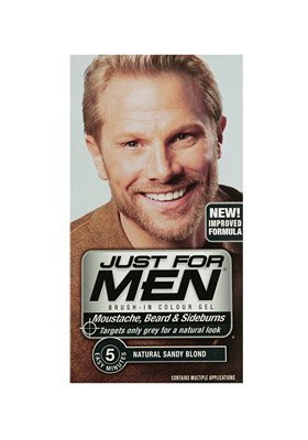 Just For Men M10 Sandy Blonde Beard Dye: Amazon.co.uk: Health ...