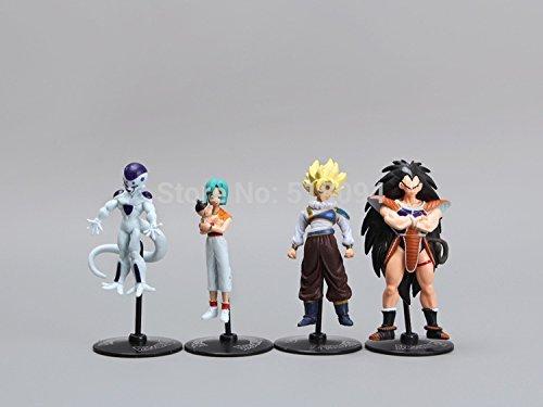 20pcs/set Dragon Ball Z Gt Action Figures Crazy Party 10cm Cell/freeza/goku