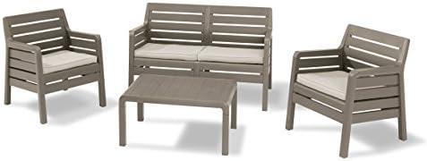 LuxuryGarden - Set salón de jardín con sofá dos plazas ...