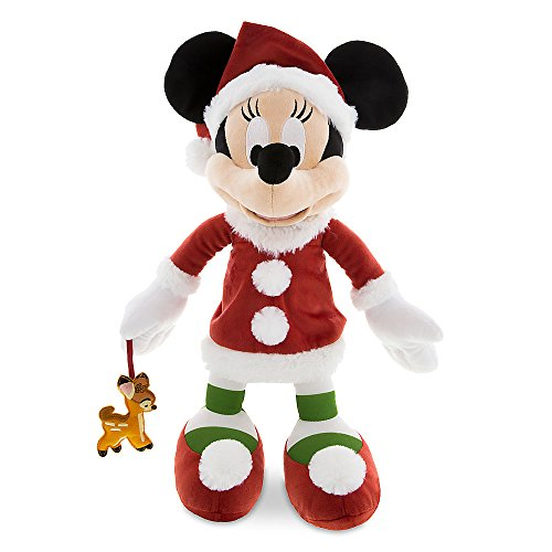 Disney Santa Minnie Mouse Plush & Bambi - 15 Inch