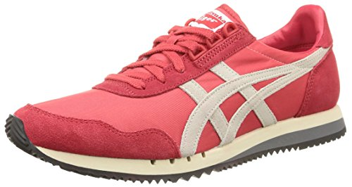Dualio Sneakers classic Asics white Basses Red Mixte Adulte Rouge 2301 5dwYq