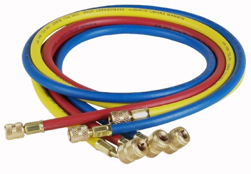 robinair-69060a-enviro-guard-hose-set-with-45-quick-seal-fittings-60-set-of-3