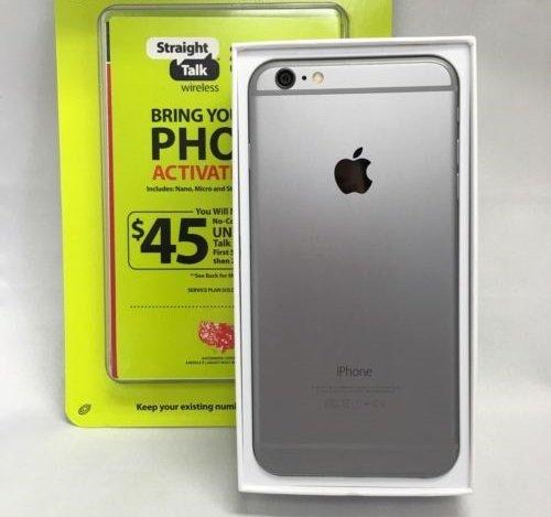 Apple iPhone 6 Plus 16GB Space Gray  + Straight Talk via Ver