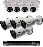 Lorex 16 Channel 4K NVR 8 IP Cameras Security System NR9163 3TB 2HDD, 4 4MP Dome and 4MP IP Bullet Cameras