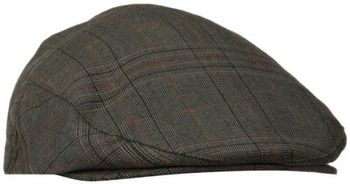 Brixton Men's Hooligan Driver Snap Hat, Black/Gold, Small