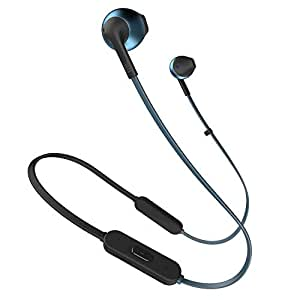 JBL T205 Wireless In-Ear Headphones - Blue (JBLt205Btblu)