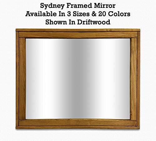 Sydney Rustic Mirror - Vanity Mirror, Bathroom Mirror, Farmhouse Decor, Wood Mirror, - Sydney Bathroom Custom Mirrors