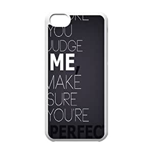 Case for IPhone 5C, Perfect Case for IPhone 5C, Dustin White
