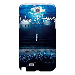 Samsung Galaxy Note 2 EVb2303DXIX Provide Private Custom High-definition Lake Of Tears Band Pattern Shock Absorbent Hard Cell-phone Case -iphonecase88