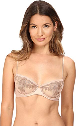 La Perla Women's Morgane Sheer Demi Nude 34D ()