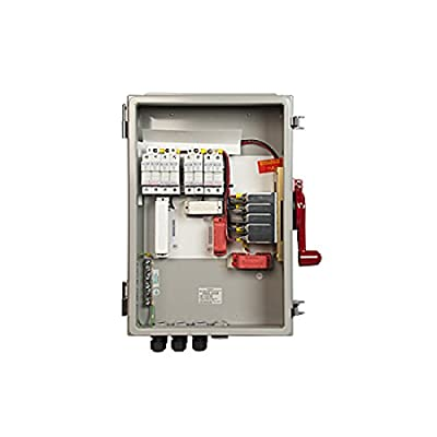 MidNite Solar MNPV8HV-DLTL 4X 8 Input Disconnecting Combiner