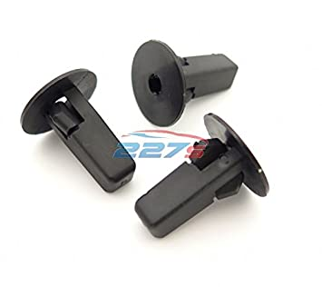 Fits wide range of models 10 Moulding /& Door Card Clips to fit a 10mm Hole 227sParts Interior and Exterior Trim