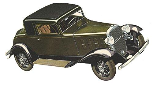 - The Standard Coupe - Vintage Die-Cut Chevrolet Advertisement - Circa 1930s