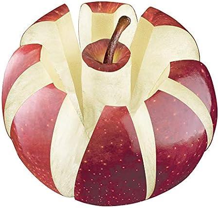 Coupe-Pommes avec Protection de Lame Tescoma Delicia Blanc//Jaune en Acier Inoxydable