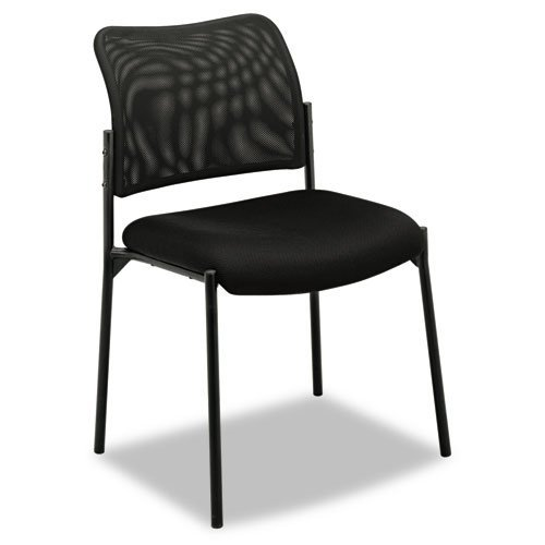 Basyx VL506 Series Office Stacking Guest Chair - Comfortable - Stylish - Breathable ()
