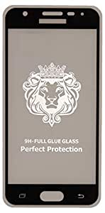 Tempered Glass Screen Protector For Samsung Galaxy J5 Prime, Black