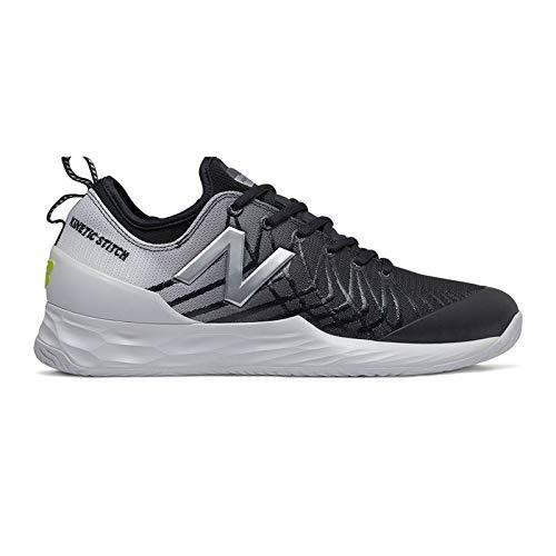 New Balance Fresh Foam LAV (D) Mens Tennis Shoe - Black/White - Size 10