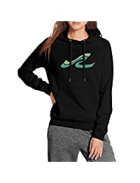 Pupkitten Casual Sweaters Woman Long Sleeve Cool Sea-Ray-Logo-White- Wool Warm Pattern Pullover Hoodie