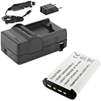 Sony Cyber-shot DSC-WX350 Digital Camera Accessory Kit includes: SDNPBX1 Battery, SDM-1559 Charger