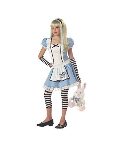 Storybook Disney Alice in Wonderland Tween Girls Halloween Costume -