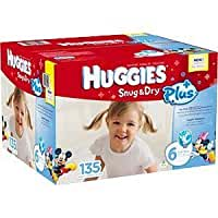 Huggies® Snug & Dry® Plus Diapers Size 6 - Case of 135