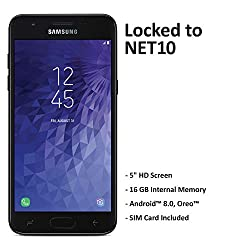 Image of the product Net10 Samsung Galaxy J3 that is listed on the catalogue brand of Net10.