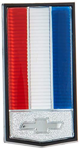 - Trim Parts 6990 Front Header Panel Emblem (1982-1985 Camaro, Except Z-28, Front Header Panel Emblem Except Z-28)