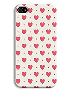 I <3 You Pattern Case for your iPhone 4/4s