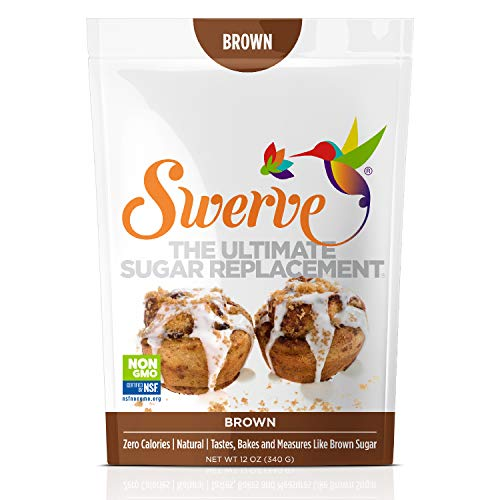 Swerve Sweetener, Brown, 12 ounces (Best Sugar Replacement For Baking)
