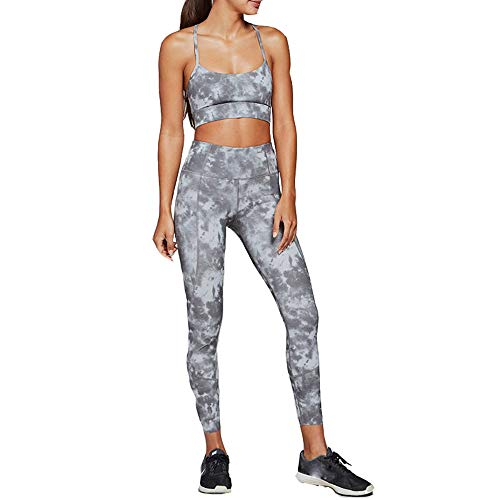 a496bc2ae7 Women 2 Two Pieces Gym Yoga Clothing Green Halter Sports Crop Tank Top Tube  Bra and