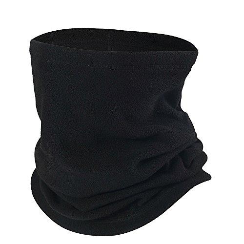35513ca0b3719  해외 Opromo 양털 Snood 스카프 목 따뜻한 Beanie Hat 스키 Balaclava 열전달 스키 착용