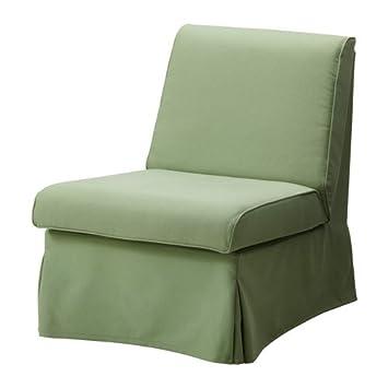 IKEA SANDBY -Bezug Sessel Blekinge grün: Amazon.de: Küche ...