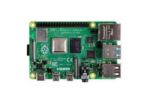 Enabled Single - Raspberry-PI Single Board Computer, Raspberry Pi 4 Model B, BCM2711 SoC, 4GB DDR4 RAM, USB 3.0, PoE Enabled