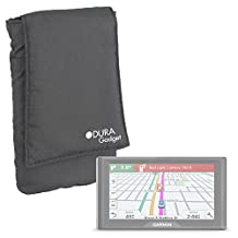 DURAGADGET Lightweight, Protective & Ultra-Portable Satnav Case Pouch with Belt Loop in Black Compatible with NEW Garmin DriveAssist 50LMT / DriveLuxe 50LMT HD / DriveSmart 50LMT