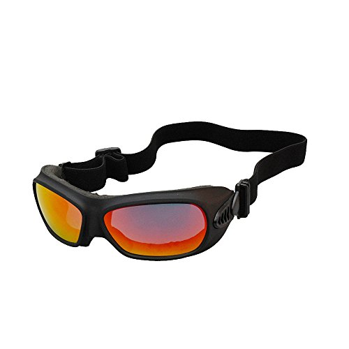 Foritone Regulator Windproof Dustproof Anti Fog Goggles,Adjustable Ventilation System, REVO Lens,UV400 Protection
