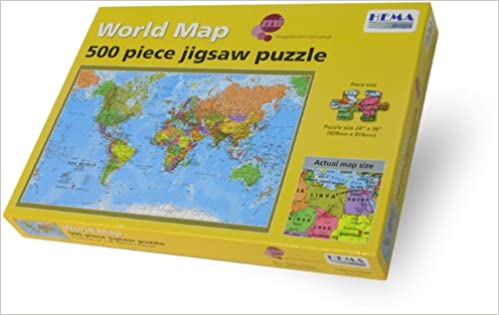 Buy world map 500 piece jigsaw puzzle hemad01 book online at low buy world map 500 piece jigsaw puzzle hemad01 book online at low prices in india world map 500 piece jigsaw puzzle hemad01 reviews ratings amazon gumiabroncs Choice Image