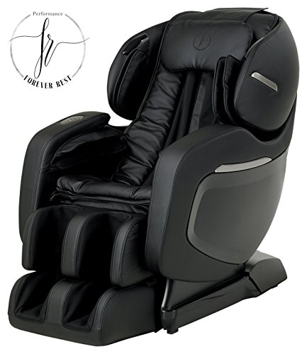 FINALLY ON AMAZON! The 2017 FOREVER REST FR-7Ks PREMIUM L-TRACK SMART MASSAGE CHAIR WITH TRIPLE FOOT ROLLERS, ZERO GRAVITY SLIDING TECHNOLOGY, YOGA STRETCH, SWING MODE, BLUETOOTH SPEAKERS. (Black) by Forever Rest