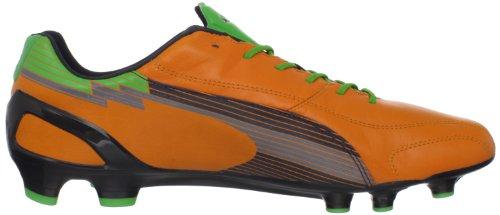 Puma Mens Evospeed 1 K FG Soccer Cleat Flame Orange/Team Charcoal/Classic 1yWAkkpU