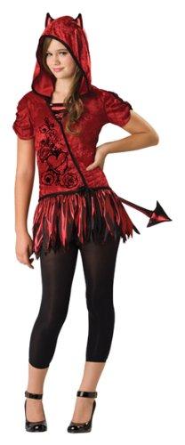 Tween Devil Girl Costume (Devil in da Hood Costume - Large)