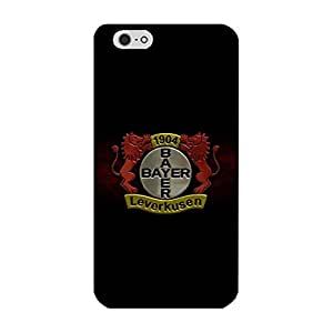 Vintage Bayer 04 Leverkusen Phone Case Plastic PC Cover for Iphone 6 Plus/6s Plus 5.5 Inch with FC Team Image