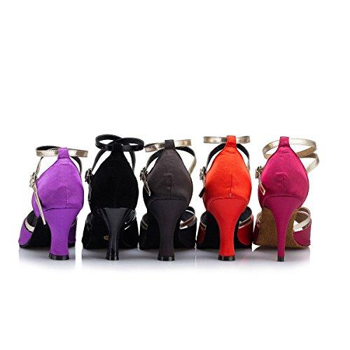 8cm Miyoopark Donna Ballroom Black Heel rxxRv7w