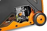 WEN DF400i Super Quiet 4000-Watt Dual Fuel RV-Ready