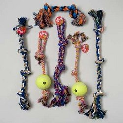 DDI - Extra Large Rope Chew Dog Toy - Assorted (1 pack of 18 items) by DDI