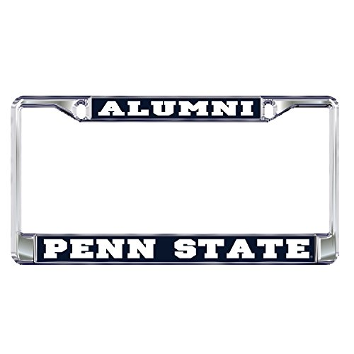 Penn State PLate Frame DOMED PENN STATE ALUMNI PLATE